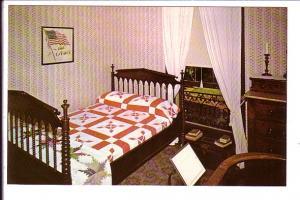 Robert Lincoln's Bedroom, Lincoln's Home, Interior, Springfield, Illinois,