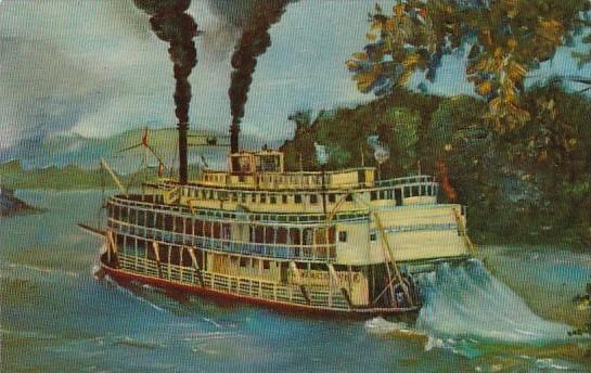 Old Fashioned Mississippi River Stern Wheeler