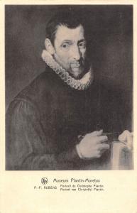 Museum Plantin-Moretus P.P. Rubens Portrait de Christophe Plantin