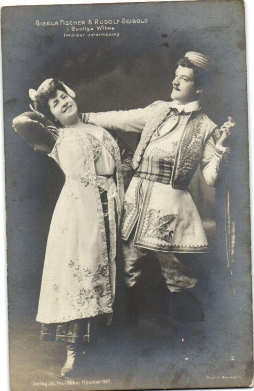GISELLE FISCHER & RUDOLF SEIBOLD CPA Artiste Theatre Star (13559)
