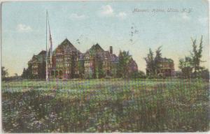 Masonic Home Utica NY 1909