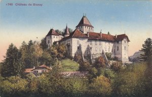 Switzerland Vaud Chateau de Blonay sk3696