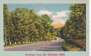 Ohio Greetings From Mt Gilead