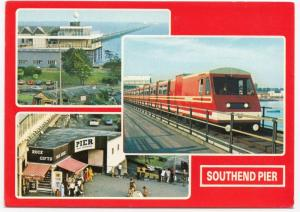 Essex; Southend Pier Multiview PPC, Unposted, By ETW Dennis, c 1980's