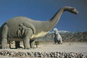 CABAZON , California , 1970-90s ; Dinosaur Sculpture