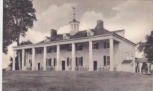 Virginia Mount Vernon The Washington Family Home-Albertype