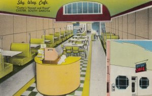CUSTER , South Dakota , 1950-60s ; Sky Way Cafe