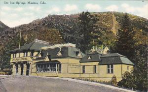 Colorado Manitou Ute Iron Springs Curteich