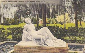 View In Brookgreen Gardens, Near Myrtle Beach, South Carolina, 1930-1940s