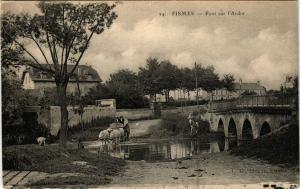 CPA FISMES - Pont sur l'Ardre (364369)