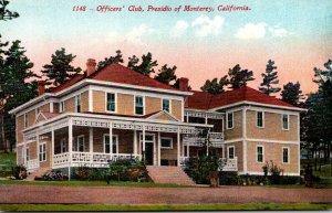 California Monterey Presidio Officers' Club
