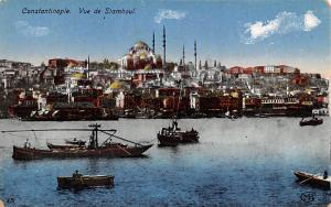 Turkey Old Vintage Antique Post Card Vue de Stamboul Constantinople Unused