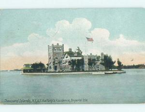 Divided-Back RAFFERTY HOME ON IMPERIAL ISLE Thousand Islands New York NY HM7999