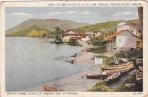 Panama Beach Scene Island Of Taboga