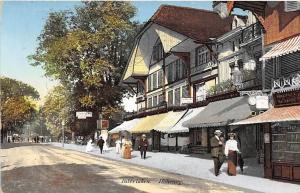 Hoheweg Street Scene Interlaken Bern Switzerland 1912 postcard