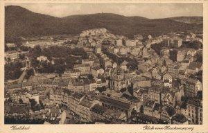 Czech Republic Karlsbad Blick vom Hirschensprung 03.84