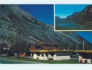 Unused Pre-1980 PONDEROSA MOTEL Waterton Lakes National Park AB n9461