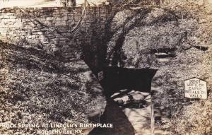 Rock Spring at Lincoln's Birthplace, Hodgenville, Kentucky, 1930-1940s