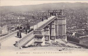 Panorama Pris De N.-D. De La Garde (Cote Nord), Marseille (Bouches du Rhone),...