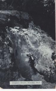 WAIRAKEIU, New Zealand, 1900-1910´s; Dragon´s Mouth