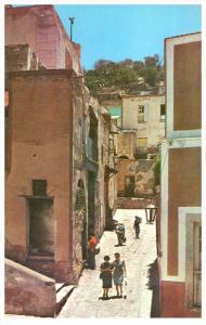 Mexico  Guanajuato  San Roque's Alley
