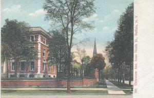 Delaware Ave. From North St., Buffalo, New York, Early Postcard, unused