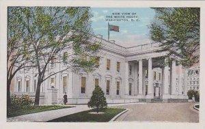 Washington Dc White House Side View