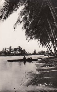 RP: AFRIQUE NOIRE - Bords de lagune , 1930s