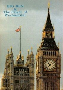 London Postcard, Big Ben & The Palace of Westminster CU8