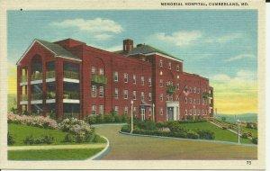 Cumberland, Md., Memorial Hospital