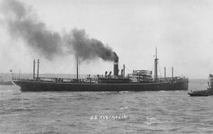 SS Australia British India Steam Navigation Co Ship Unused