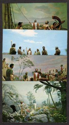 FL Lot 8 Religious Postcards Jesus Christ Postcards