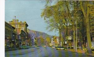 Pennsylvania Franklin Main Street Business District 1963