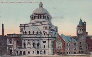 Christian Science Church Boston Massachusetts 1910