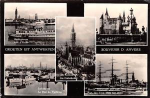 Anvers Belgium, Belgique, Belgie, Belgien La Cathedrale, Le Steen Anvers La C...