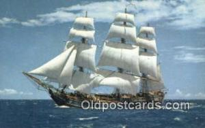 The Bounty Sail Boat Postcard Post Card Unused