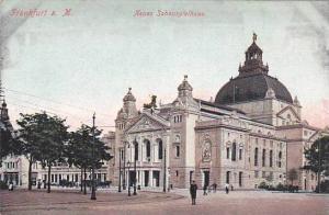 Neues Schauspielhaus, Frankfurt a. Main (Hesse), Germany, 1900-1910s