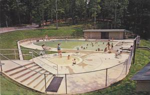 Swimming Pool, Lutheridge, Arden, North Carolina, PU-1965