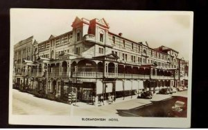 1941 South Africa Bloemfontein Hotel RPPC Cover to Cape