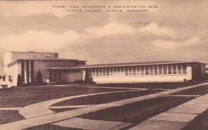 Mississippi Jackson Dansby Hall Auditorium & Administration Building Jackson ...