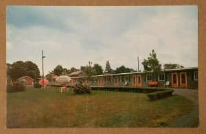 Sunset Hill Motel, Navarino, New York Postcard