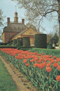 Virginia Williamsburg The Governor's Palace Garden