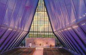 U S Air Force Academy Protestant Cadet Chapel Colorado Springs Colorado