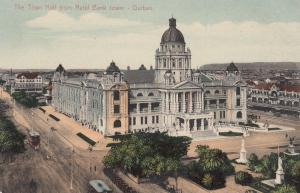 DURBAN , South Africa , 00-10s; The Town Hall From Natal Bank Tower