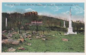 Tennessee Chattanooga Cravens House General Walthall's Headquarters On L...
