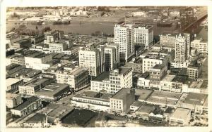 Birdseye View 1930s Tacoma Washington RPPC Real photo postcard 2195