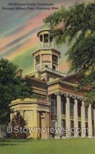 Old Warren County Courthouse Vicksburg MS Unused