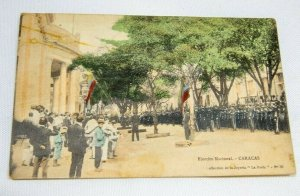 1911 posted Postcard - Ejercito Nacional - Caracas Venezuela N38 Soldiers Photo