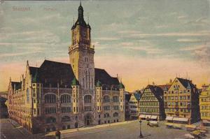 Rathaus, Stuttgart (Baden-Wurttemberg), Germany, 1900-1910s