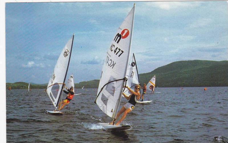 Wind Surfing, Saint-Donat , Quebec , Canada , PU-1987